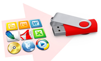 USB Card We can preload presentations, product catalogues or any other promotional materials you desire.